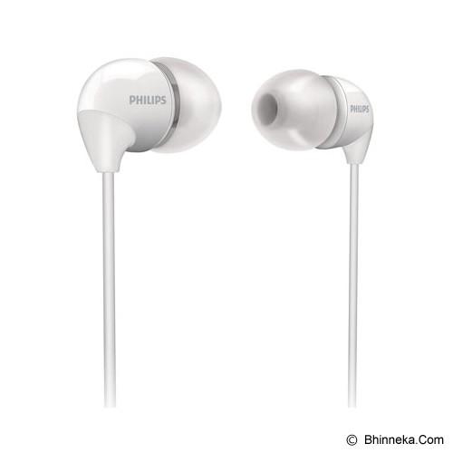 PHILIPS In-Ear Headphones [SHE 3590WT] - White - Earphone Ear Monitor / Iem